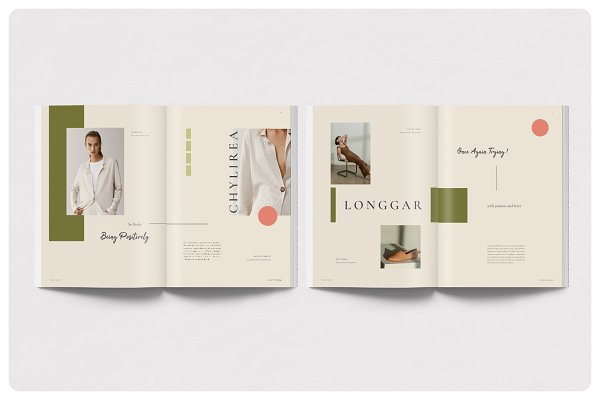 Perfect Editorial Imagebook Template | Creative Market